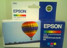 Cartuccia Epson T020 Tri-Color Originale Nuova Stylus Color 880 Scadenza 04/2008