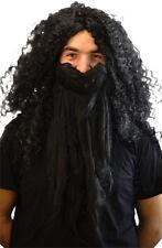Vestido de fantasía de Halloween-Potter-Escuela asistente Peluca & Barba Conjunto Hagrid sólo un tamaño
