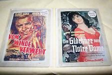 Blechschild Blechkarte Film  Bild Klassiker 12,6x17,7 cm  2 Stück Postkarte