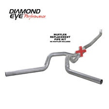 Exhaust System Kit-Crew Cab Pickup Diamond Eye Performance K4116A-RP