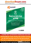 Avast SecureLine VPN 2021 - 5 Devices - 1 Year [Download]