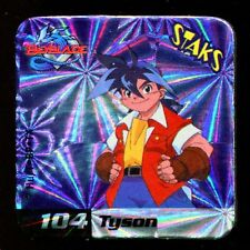 STAKS STAKS AIMANT MAGNET BEYBLADE N° 104 TYSON HOLO