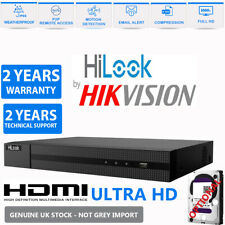 HIKVISION HILOOK DVR 4 8 16 32CH TURBO HD 1080P 2MP HDMI VGA CCTV Video Recorder