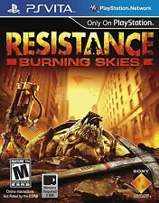 Resistance: Burning Skies [Sony PlayStation Vita PSV, First Person Shooter FPS]