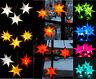 LED 3 kleine Sterne wetterfest Sternenkette außen Außenstern Adventsstern