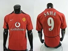 2002-04 nike Manchester United Home Shirt SAHA 9 SIZE S (adults)