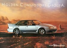 HSV VL Walkinshaw Group A Commodore SS brochure Holden Bathurst Genuine