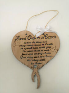 Loved Ones in Heaven, Wedding Sign, Sign for Empty Chair
