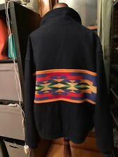 VTG Pendleton Wool Thinsulate Western Wear Southwestern Navajo Jacket SZ XL