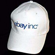 White Ebay Inc Port Company Adjustable Seller Employee Buyer Baseball Hat Cap