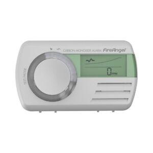 7 Year Digital Display Carbon Monoxide (CO) Detector Alarm - FireAngel CO-9D
