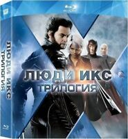 X-Men Trilogy Pack (Blu-ray, 6-Disc Set) Eng,Russian,French,Italian,Czech,Polish