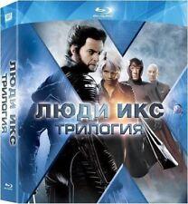 X-Men Trilogy Pack (Blu-ray, 6-Disc Set) Eng,Russian,French,Italian,Czech,Polish