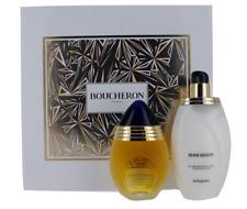 Boucheron for Women SET: EDP Perfume Spray 3.4 oz. + Body Lotion 6.75 oz. NIB