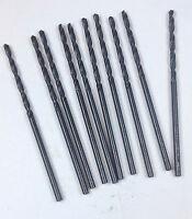 Tap Drill for 3-48 135 DEG POINT 12 PCS Number  #47 COBALT  JOBBER DRILL BIT