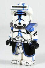 Custom Lego 501st COMMANDER Clone Trooper Minifigure -Full Body Printing! CAC