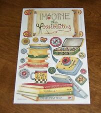 Creative Imaginations Debbie Mumm Scrapbook Sticker ~ Craft/Scrapbooking Women