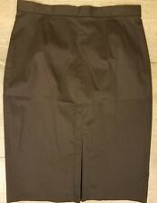 WOMEN'S BLACK LINED SKIRT BY LIZ CLAIBORNE CAREER NEW Size 10