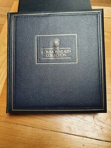 The Commonwealth stamp collection in Album - Nevr Hinged Mint