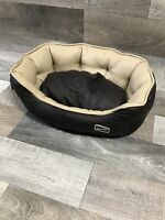 WASHABLE FAUX LEATHER SMALL DOG BED PET BED DOGBED PETBED