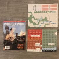 Battle Of Minsk 1944 - World at War #22 Unpunched Solitaire Wargame