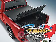 2009 - 2019 Dodge Ram 1500 Black Tri Folding Tonneau Truck Bed Cover Mopar OEM
