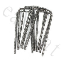 More details for u pins metal steel pegs turf reinforcement grass protection mesh mat easimat