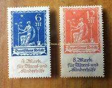 EBS Germany 1922 Aged & Children's Charity Nothilfe Michel 233-234 MNH**