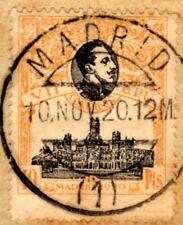 12-ESPAÑA-SPAIN-ESPAGNE-1920.VII Congreso de la UPU.Edifil Nº 309 Used.USADO
