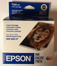 EPSON T020 201 Color Ink Cartridge Stylus Color 880 / 880i / 83 Expired 09/2006