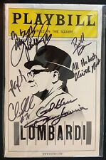 Playbill-March,2011-Lomba rdi-Cast Signed-Dan Lauria,Judith Light,More