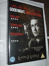 GOOD NIGHT AND GOOD LUCK George Clooney DVD