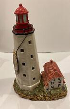 1991 Geo Lefton Sandy Hook, NJ lighted lighthouse Historic American Collection