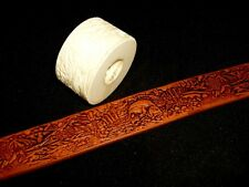 """6Fishing & Wildlife Leather Emboss Roll High Impact Poly 1 1/2"""" Wide"""