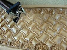 Leather Stamping Tool - E685-S Small Crazy Legs Geometric Stamp
