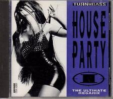 Cd  Turn up the Bass House Party 1 (1992) von Praga Khan, Quazar, Moby und Cubik