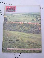 La vie du rail 1963 916 GISORS LA CHAPELLE MONTLIGEON DRAGONI PIEDIMONTE ALIFE