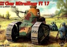 RENAULT FT 17 MITRAILLEUR (U.S, SPANISH, FINNISH, FRENCH & POLISH MKGS) 1/35 RPM