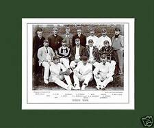 MOUNTED CRICKET TEAM PRINT - SUSSEX - 1895