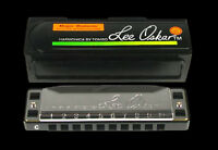 LEE OSKAR 1910Ab BLUES FOLK HARP A FLAT MAJOR DIATONIC HARMONICA IN CASE NEW
