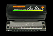 LEE OSKAR 1910A BLUES - FOLK HARP KEY OF A MAJOR DIATONIC HARMONICA IN CASE NEW