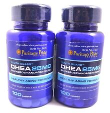 2 Bottles DHEA 25 mg 200 Tablets