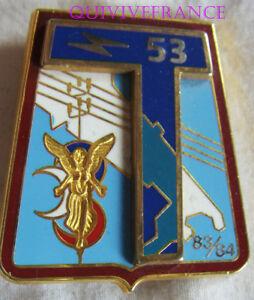 IN9841 - INSIGNE 53° Régiment de Transmissions, (HADES)