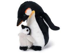 PINGUIN Königspinguin-Mama mit Baby Plüschtier Stofftier Plüsch Kuscheltier 20cm