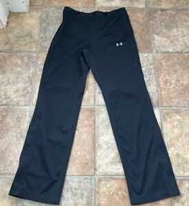 UNDER ARMOUR STORM - MENS - GOLF WATERPROOF TROUSERS - PANTS - BLACK - SMALL NEW