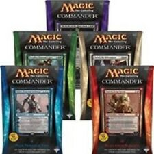 ***Complete Set of Five Commander 2014 Decks*** Sealed English Mtg Magic Cards