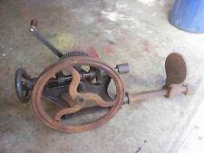 Vintage Silver # 1 post drill press antique blacksmith tool primitive