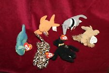 Lot of Eight McDonald's Teenie Beanie Babies