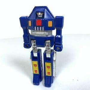 Go-Bots MR-02 Tank Robo POPY Bandai 1982 RARE go bots vintage ban dai vtg Blue
