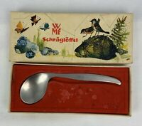 WMF Cromargan Germany Stainless Curved Spoon in Original Box Bk1